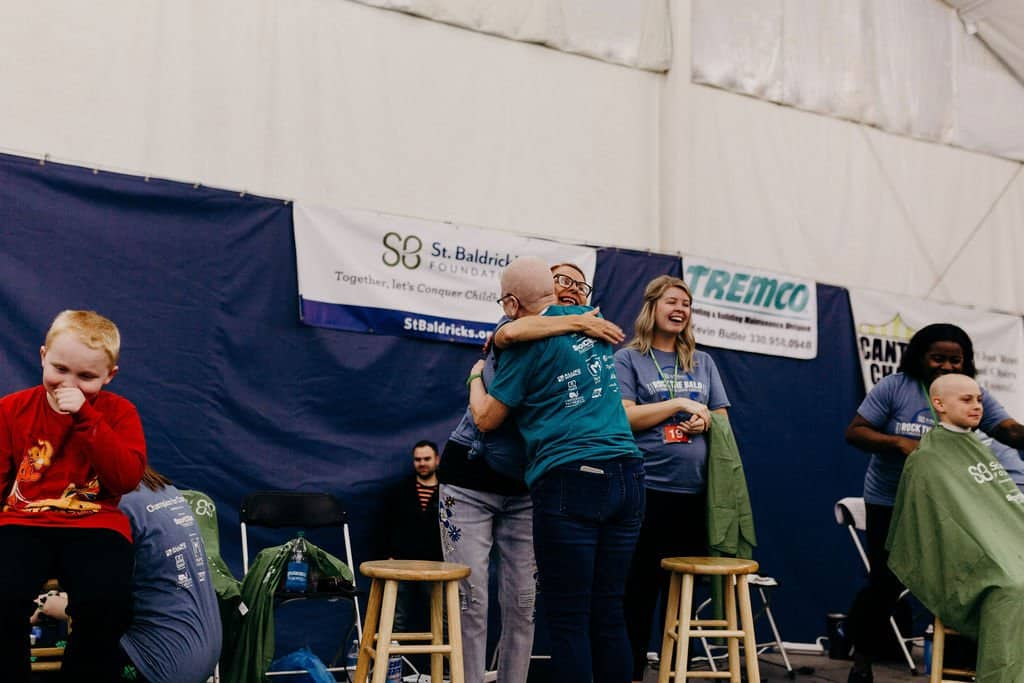 St. Baldricks | I bet you wouldn't shave your head 234