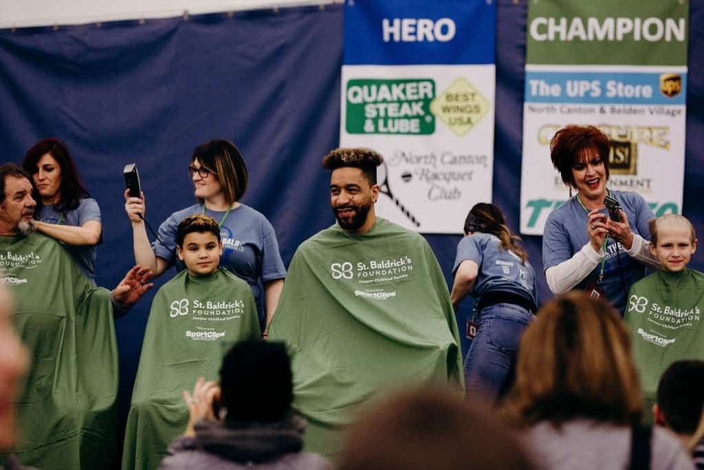 St. Baldricks | I bet you wouldn't shave your head 238