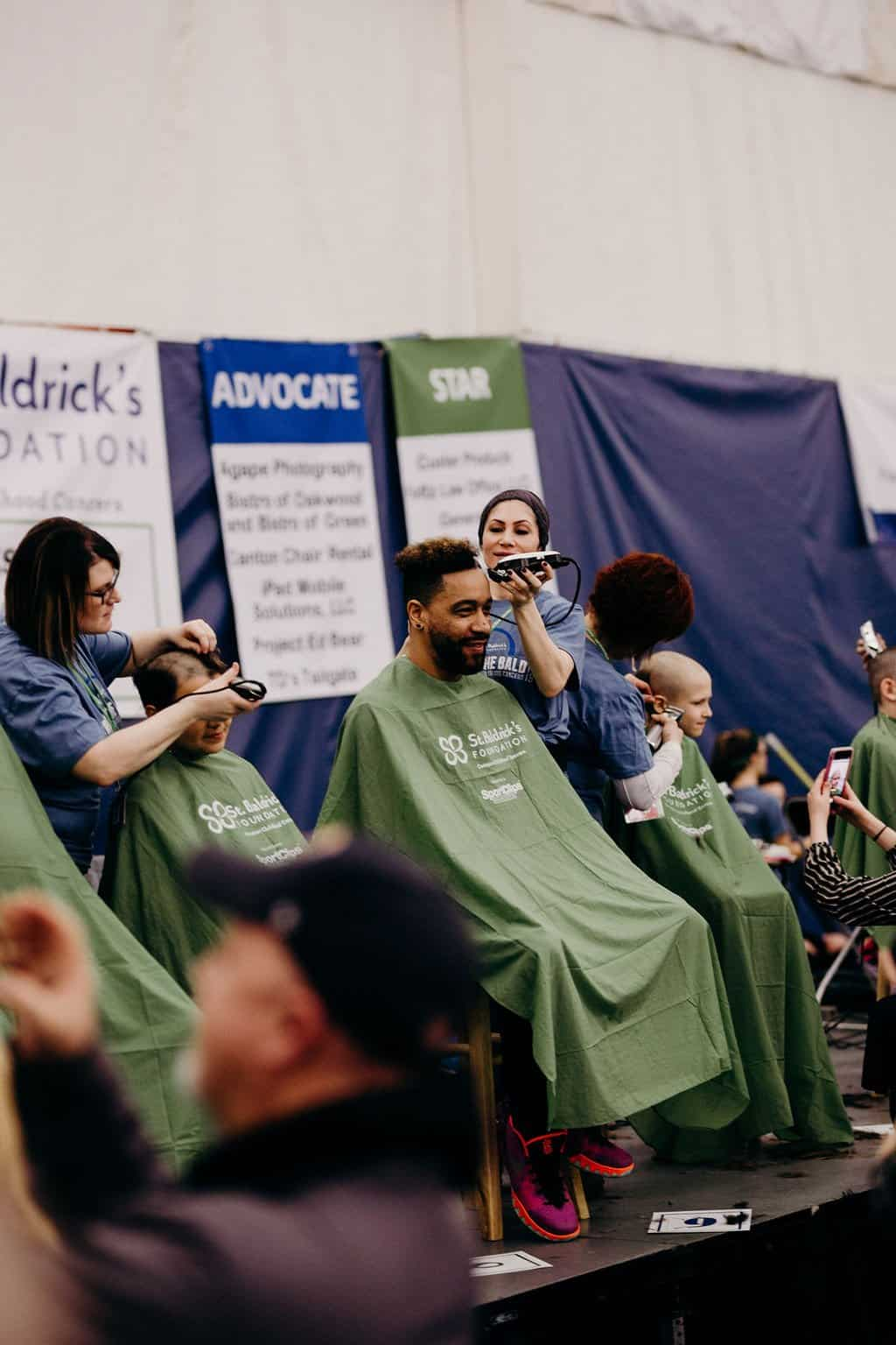 St. Baldricks | I bet you wouldn't shave your head 239