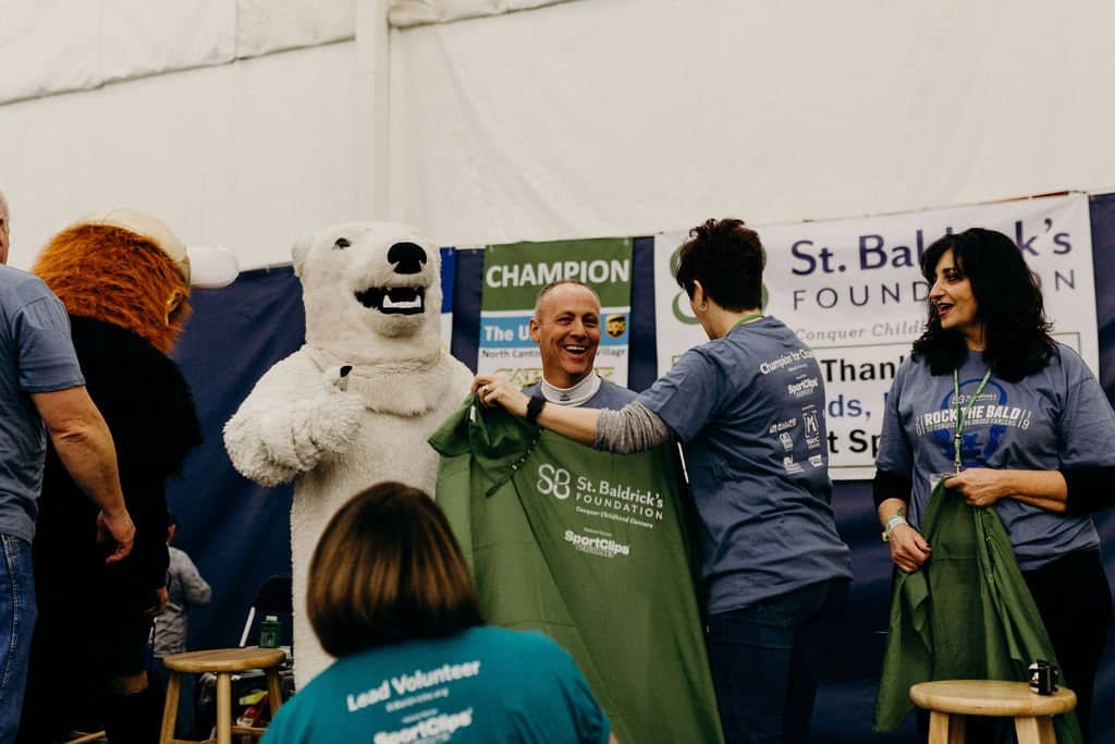 St. Baldricks | I bet you wouldn't shave your head 167