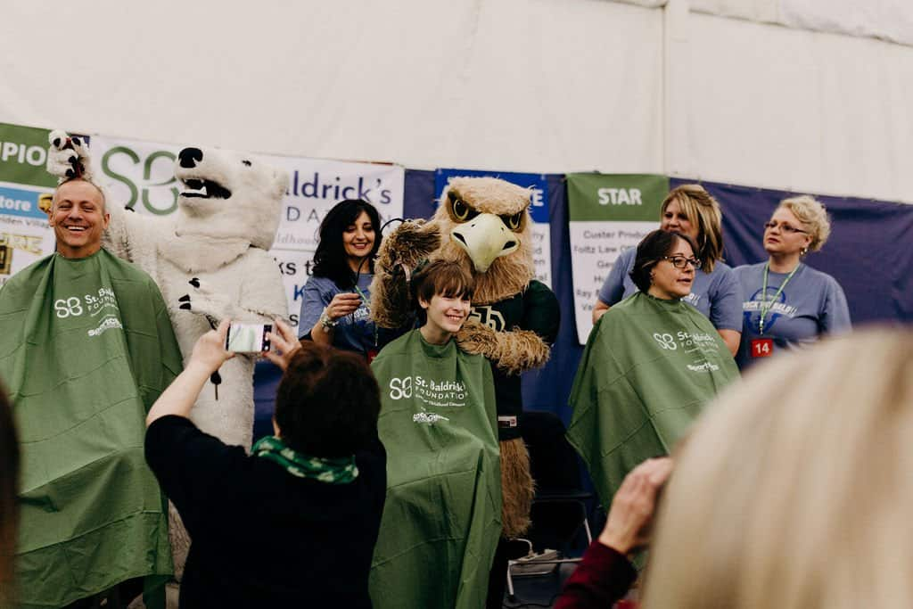 St. Baldricks | I bet you wouldn't shave your head 90