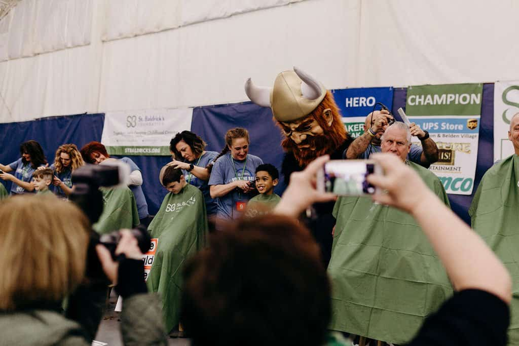 St. Baldricks | I bet you wouldn't shave your head 92