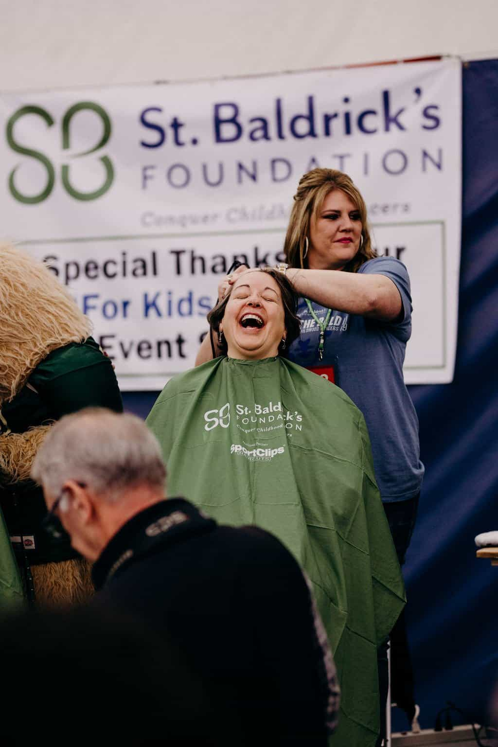 St. Baldricks | I bet you wouldn't shave your head 94