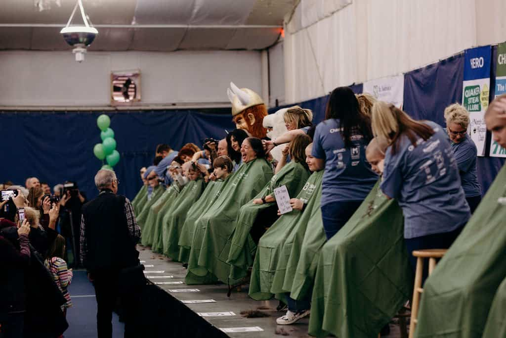 St. Baldricks | I bet you wouldn't shave your head 95
