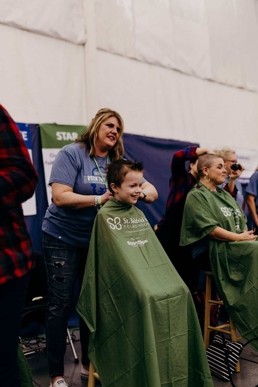 St. Baldricks | I bet you wouldn't shave your head 180