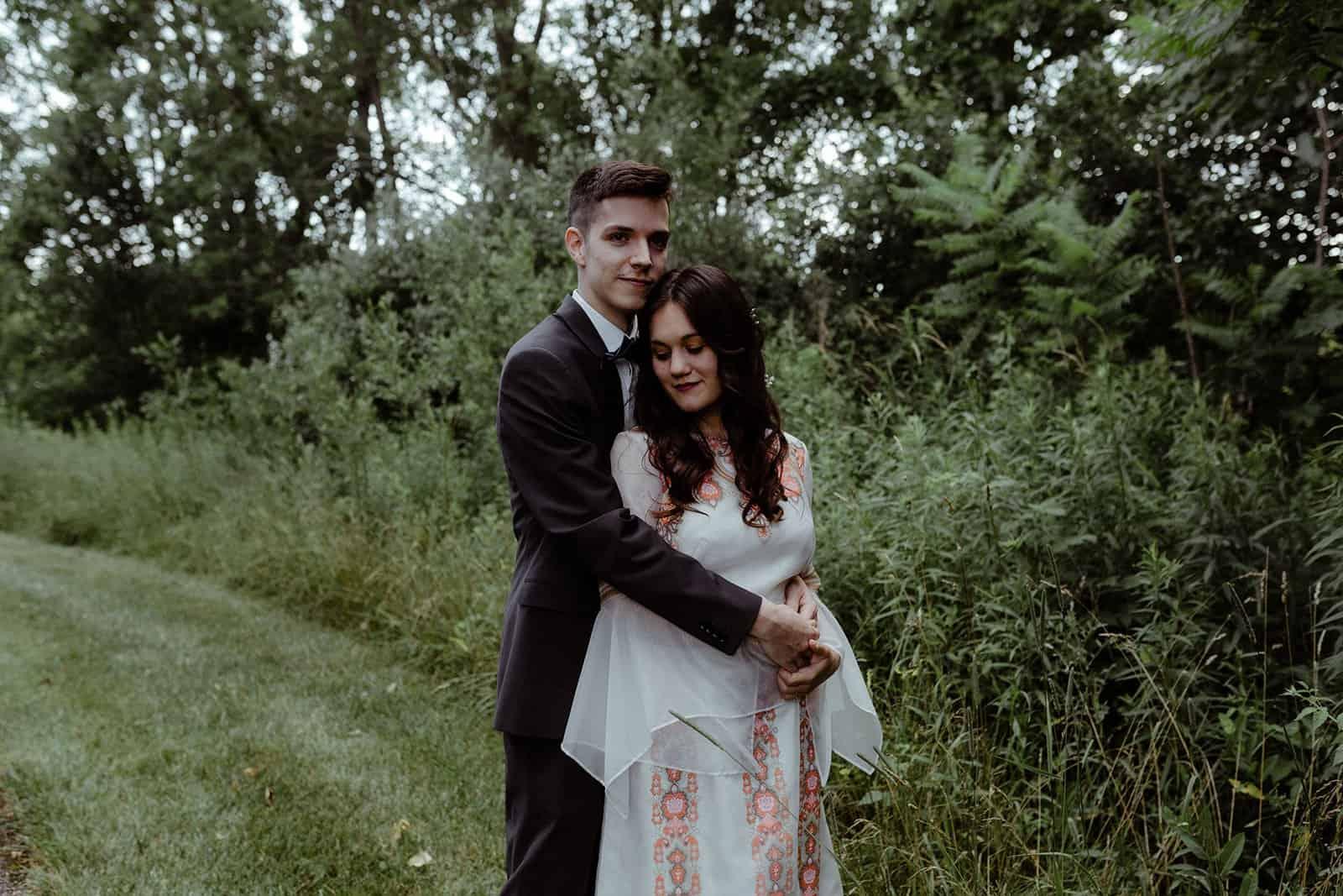 COVID-19 Backyard Wedding - WILLIAM + KAYLA 265