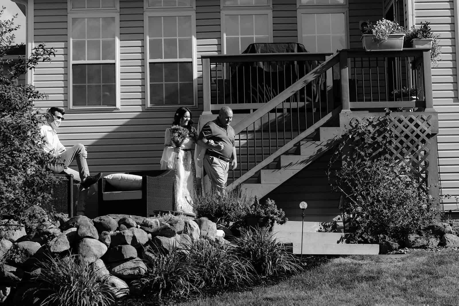 COVID-19 Backyard Wedding - WILLIAM + KAYLA 221