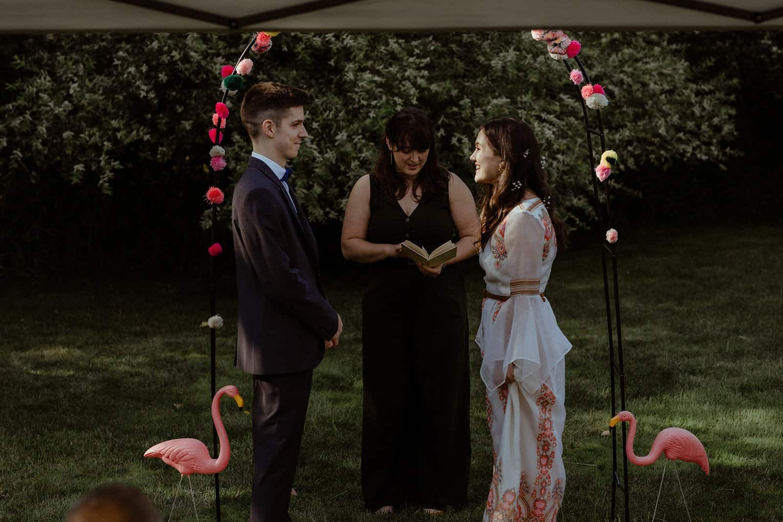 COVID-19 Backyard Wedding - WILLIAM + KAYLA 228