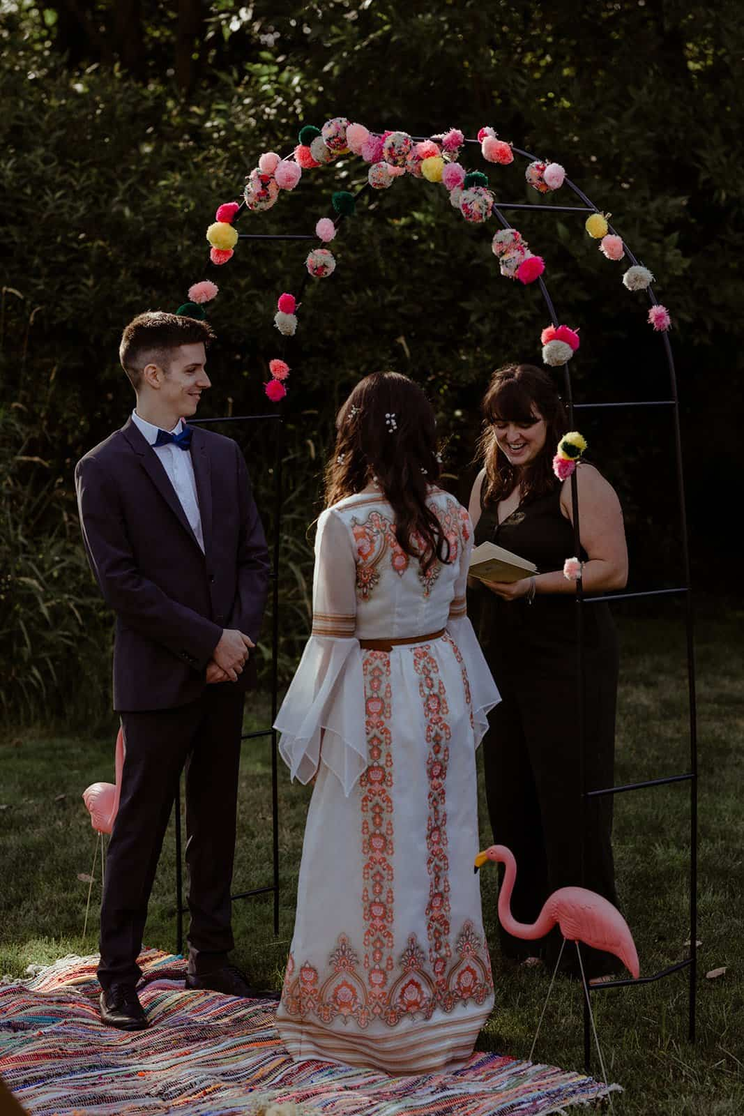 COVID-19 Backyard Wedding - WILLIAM + KAYLA 230