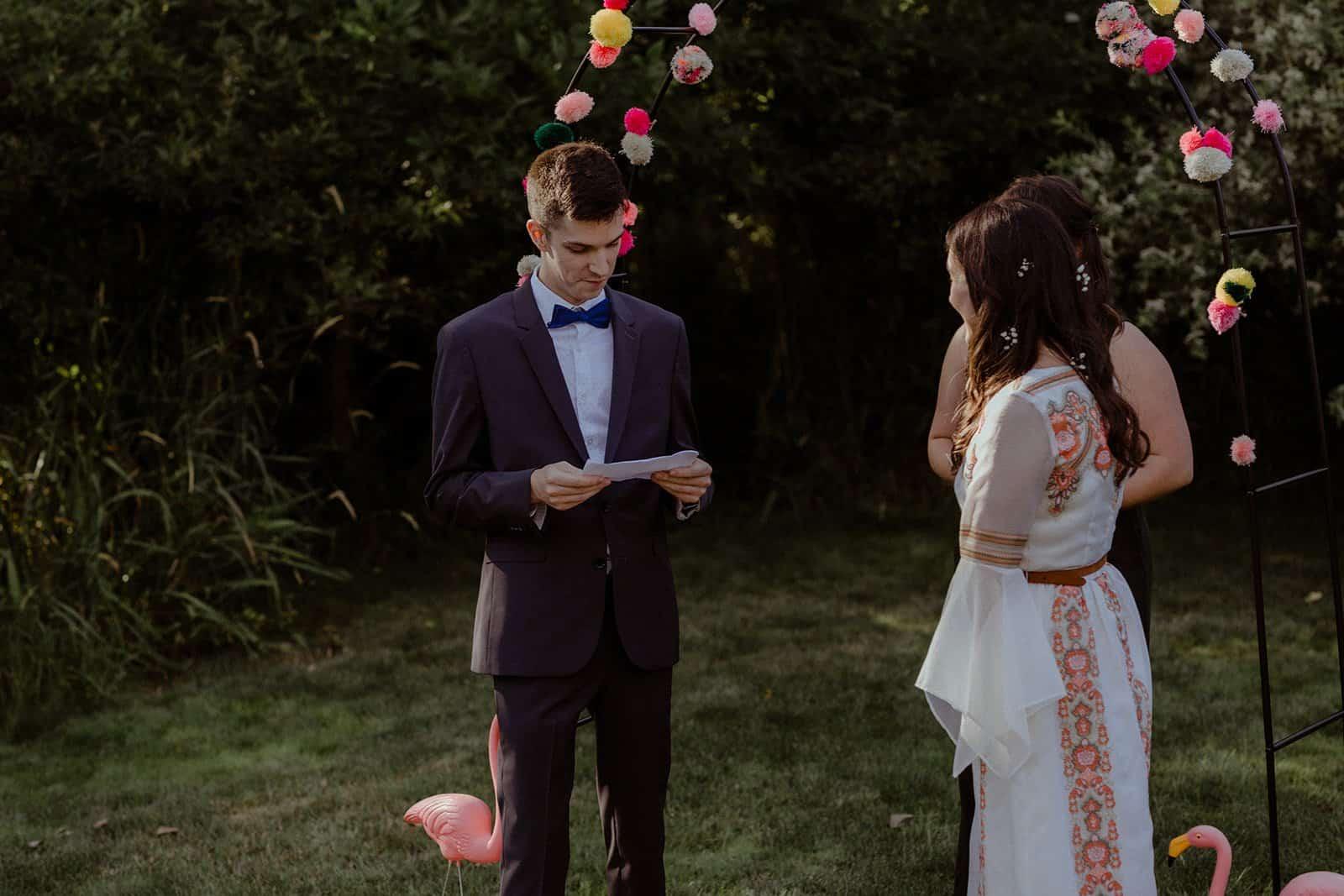 COVID-19 Backyard Wedding - WILLIAM + KAYLA 231