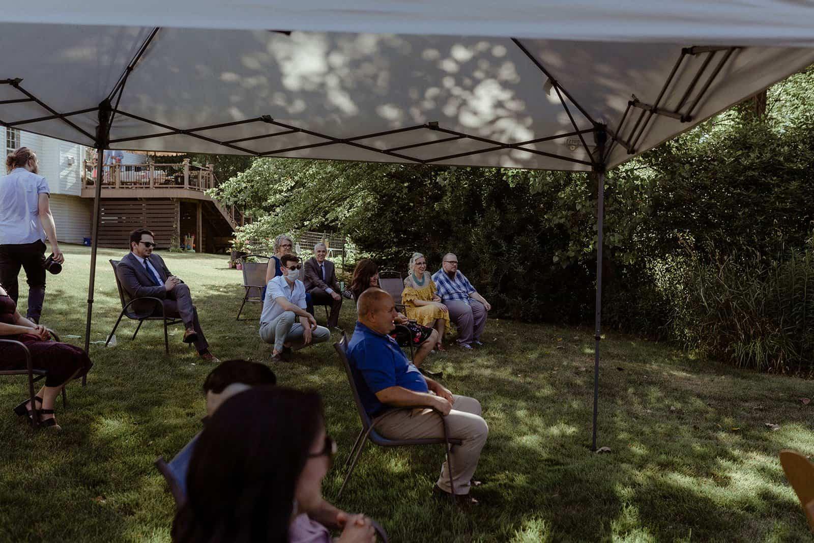 COVID-19 Backyard Wedding - WILLIAM + KAYLA 234