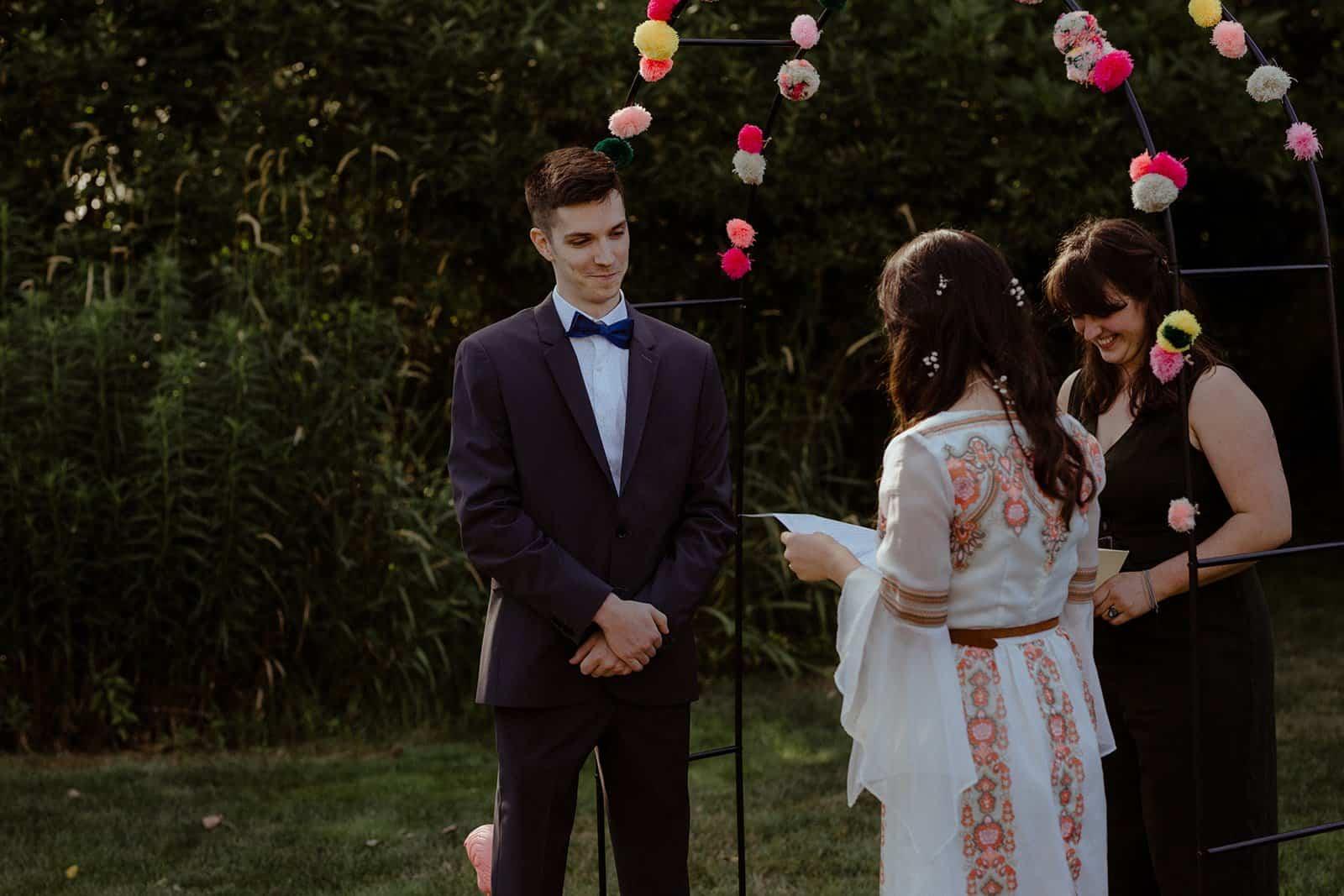 COVID-19 Backyard Wedding - WILLIAM + KAYLA 238