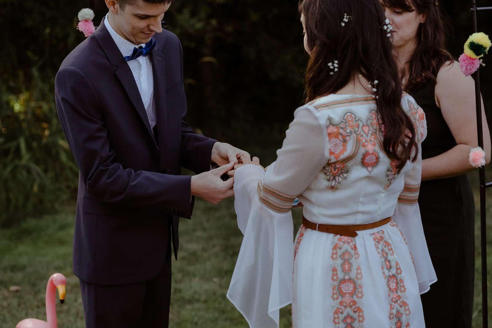 COVID-19 Backyard Wedding - WILLIAM + KAYLA 239