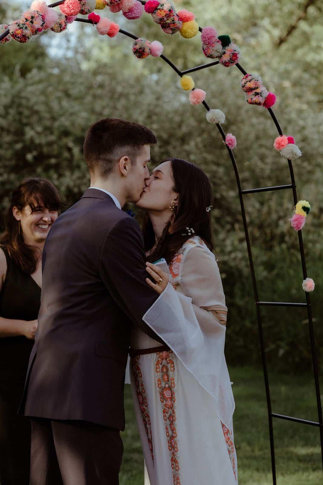 COVID-19 Backyard Wedding - WILLIAM + KAYLA 242