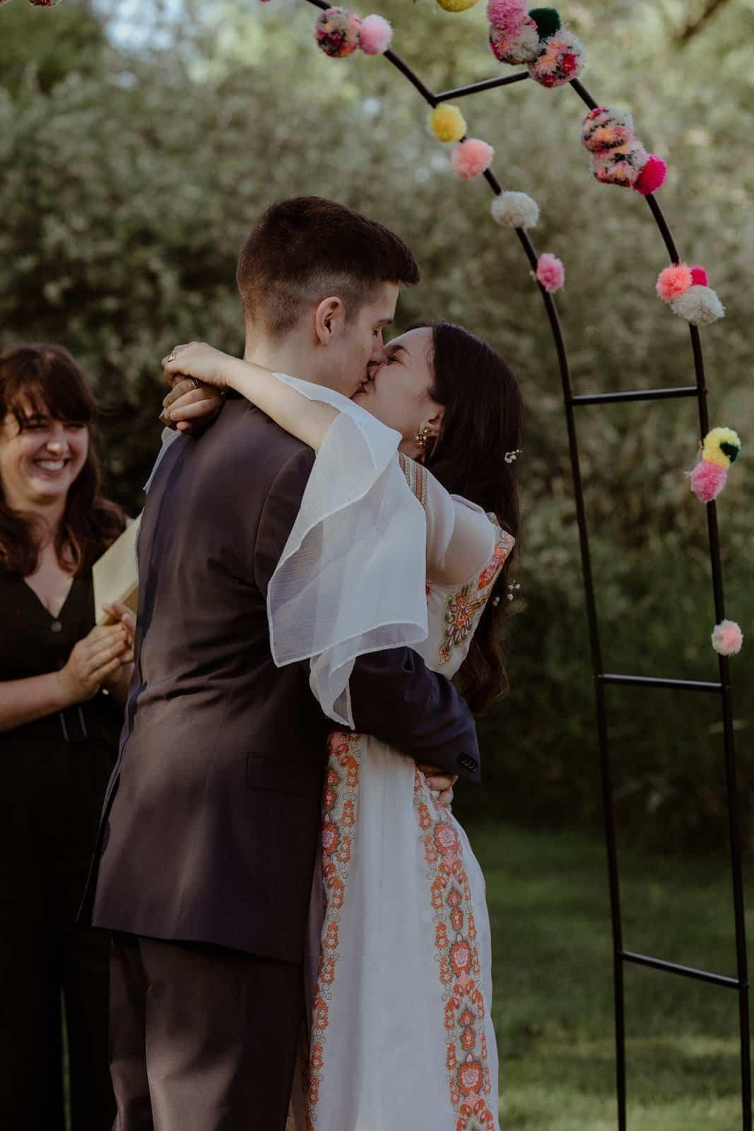 COVID-19 Backyard Wedding - WILLIAM + KAYLA 243