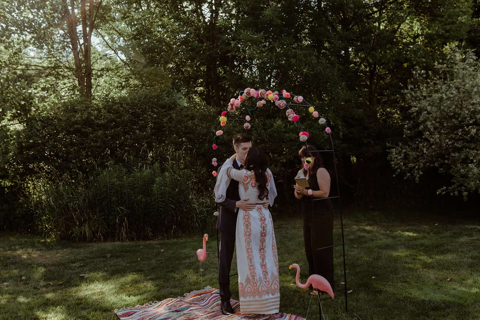 COVID-19 Backyard Wedding - WILLIAM + KAYLA 244