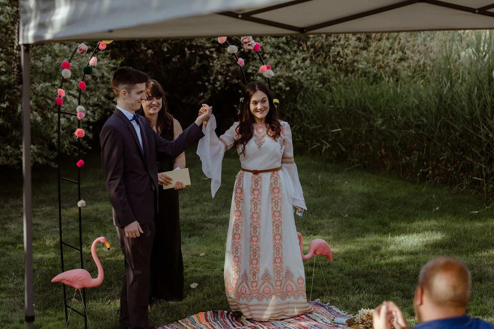 COVID-19 Backyard Wedding - WILLIAM + KAYLA 245