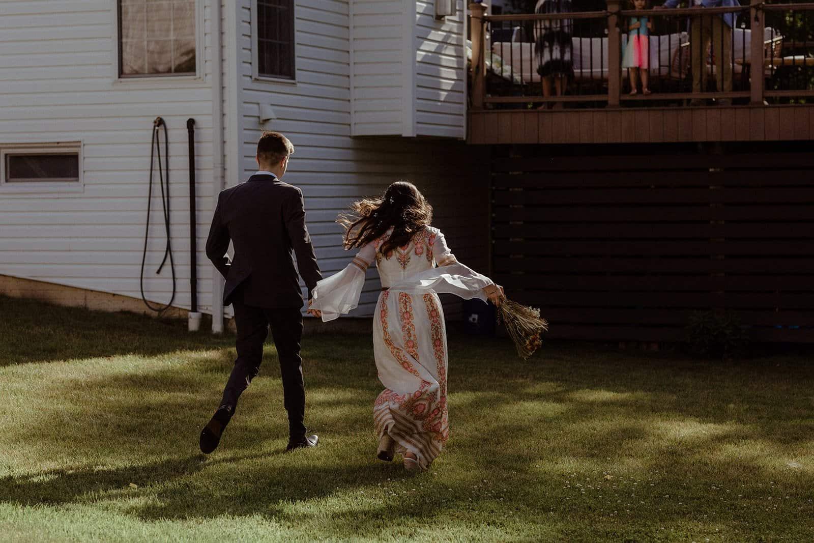 COVID-19 Backyard Wedding - WILLIAM + KAYLA 252