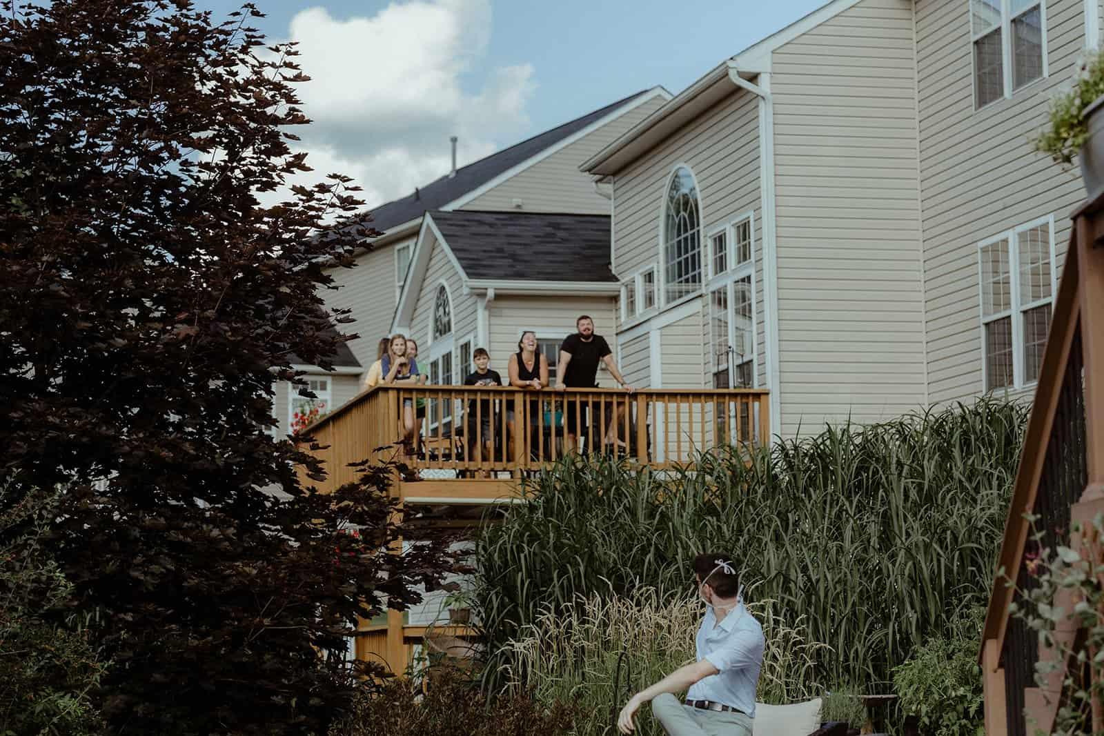 COVID-19 Backyard Wedding - WILLIAM + KAYLA 254