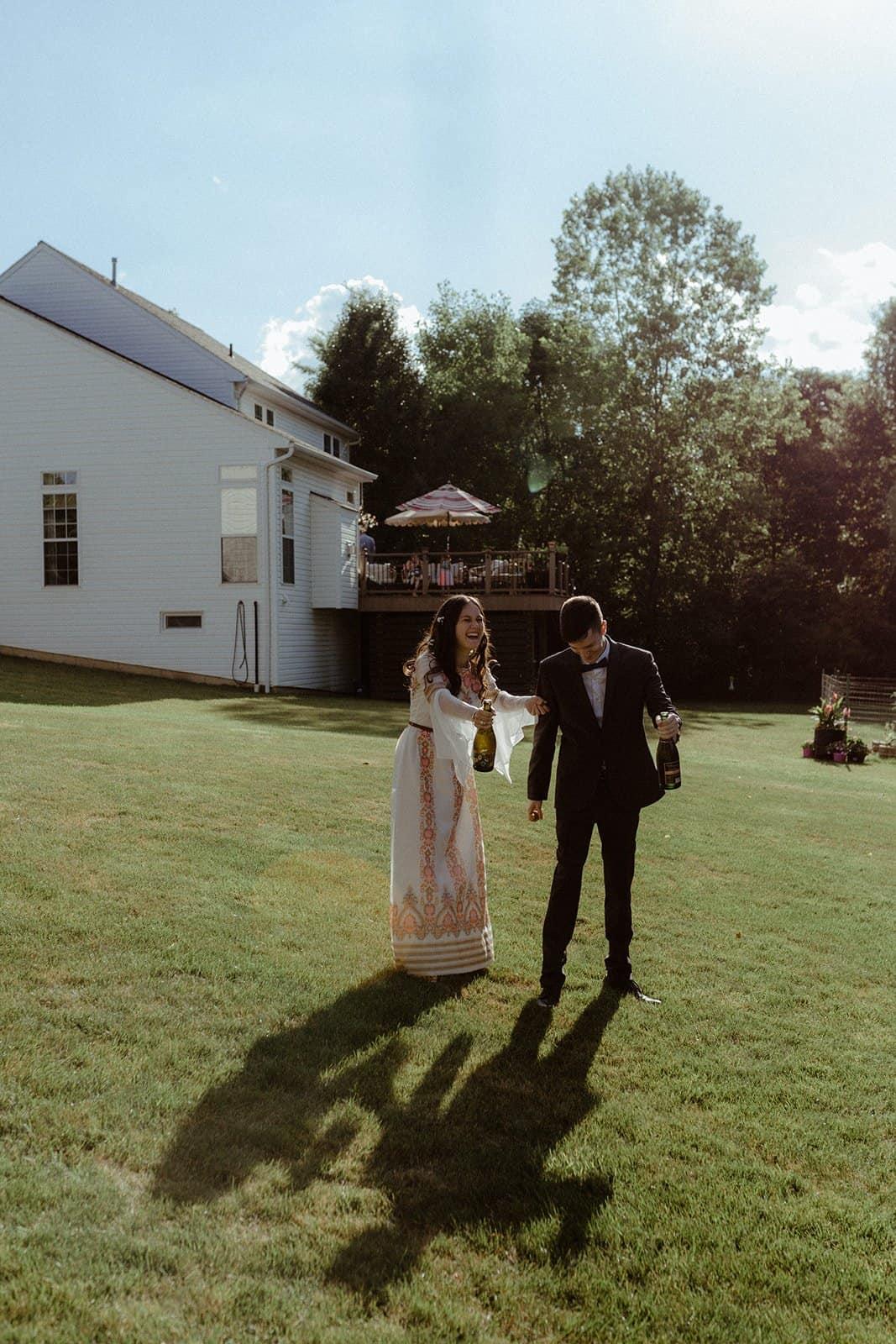 COVID-19 Backyard Wedding - WILLIAM + KAYLA 261