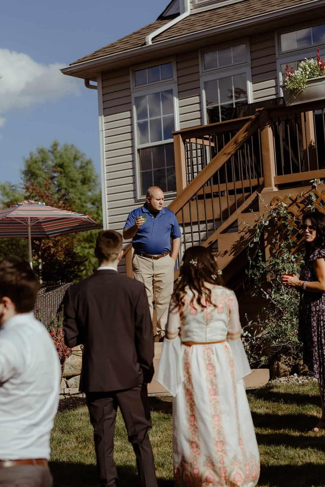 COVID-19 Backyard Wedding - WILLIAM + KAYLA 303