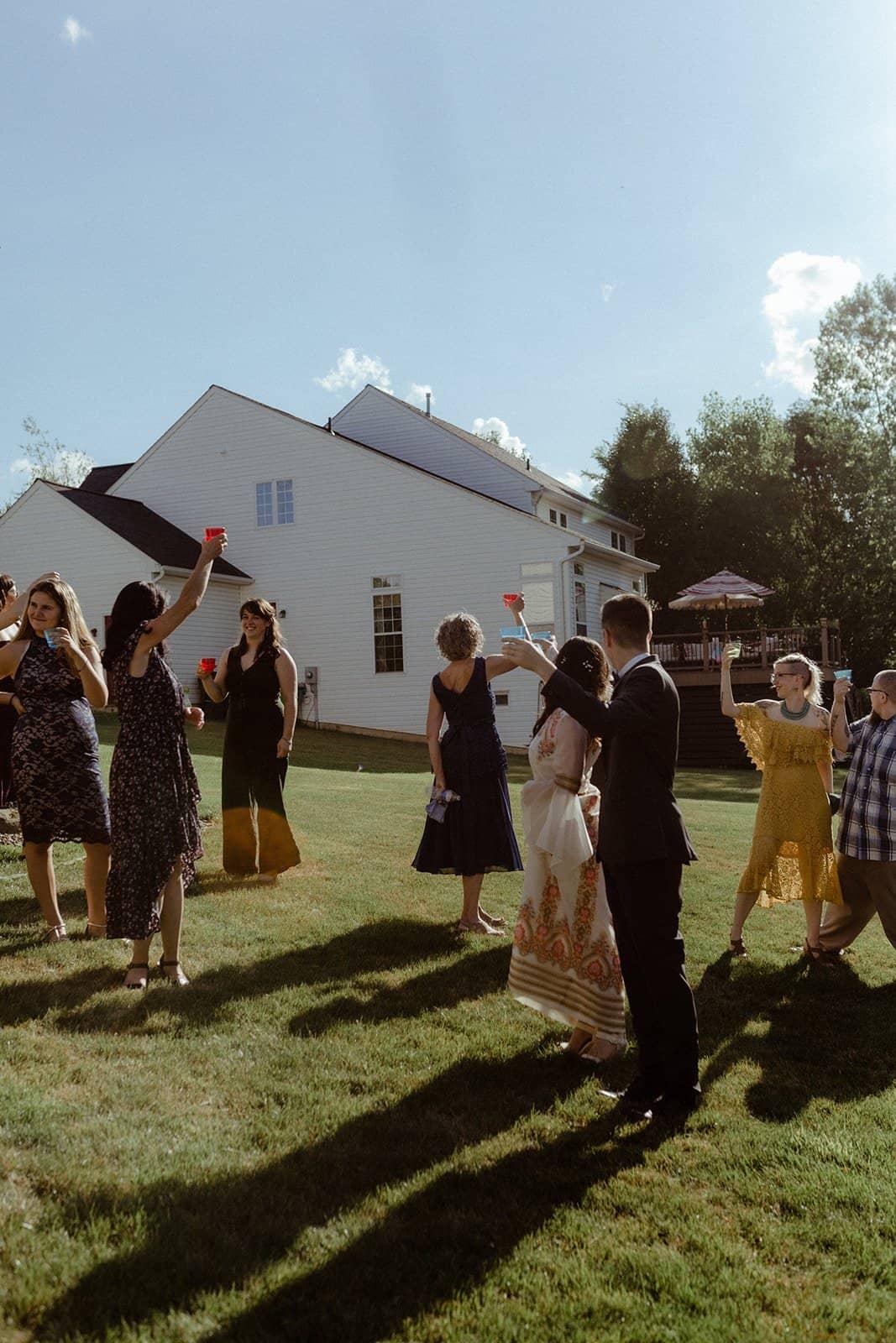 COVID-19 Backyard Wedding - WILLIAM + KAYLA 304