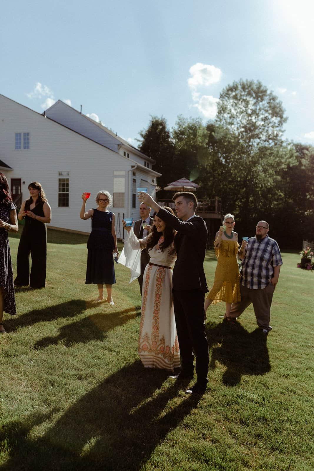 COVID-19 Backyard Wedding - WILLIAM + KAYLA 305