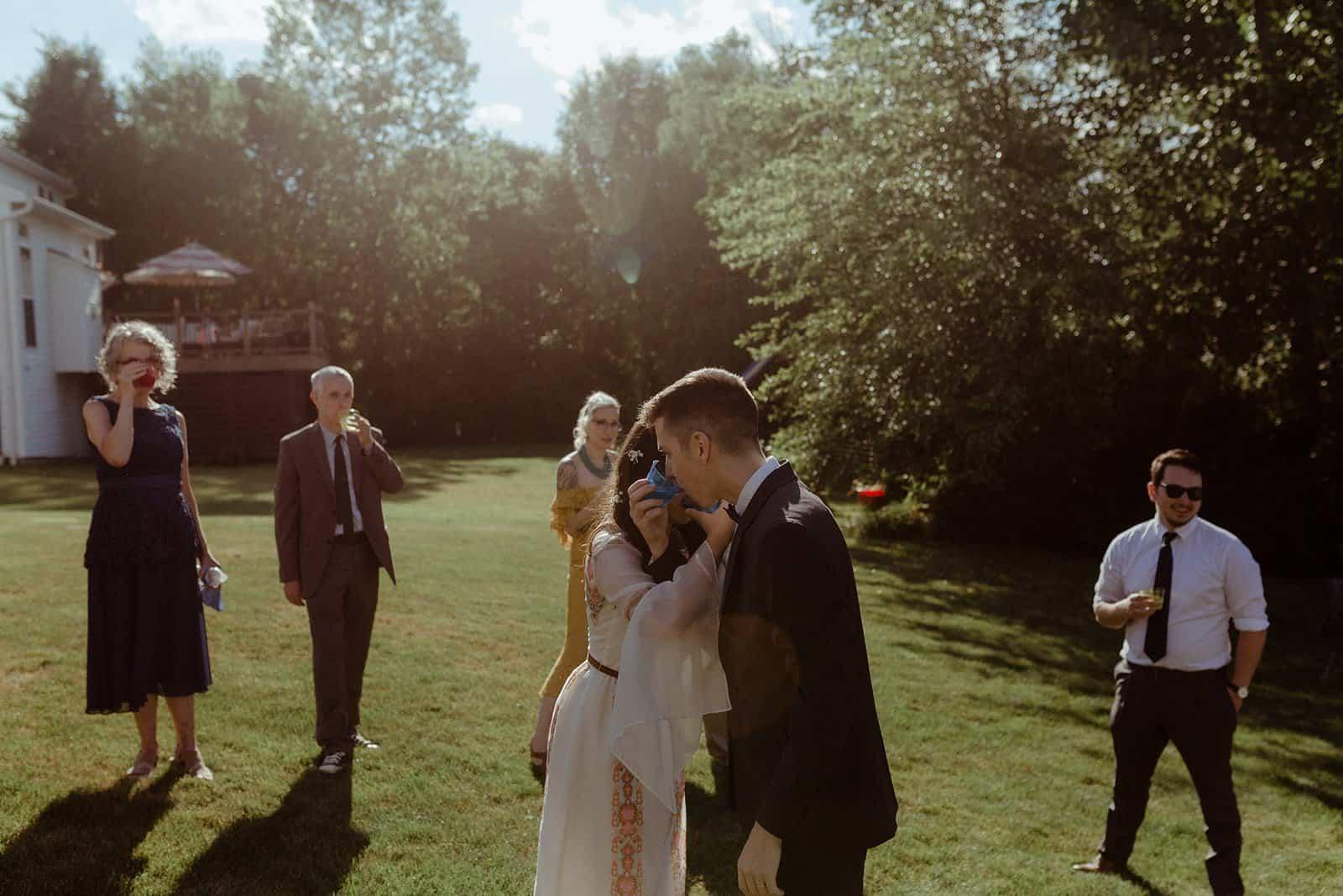 COVID-19 Backyard Wedding - WILLIAM + KAYLA 306