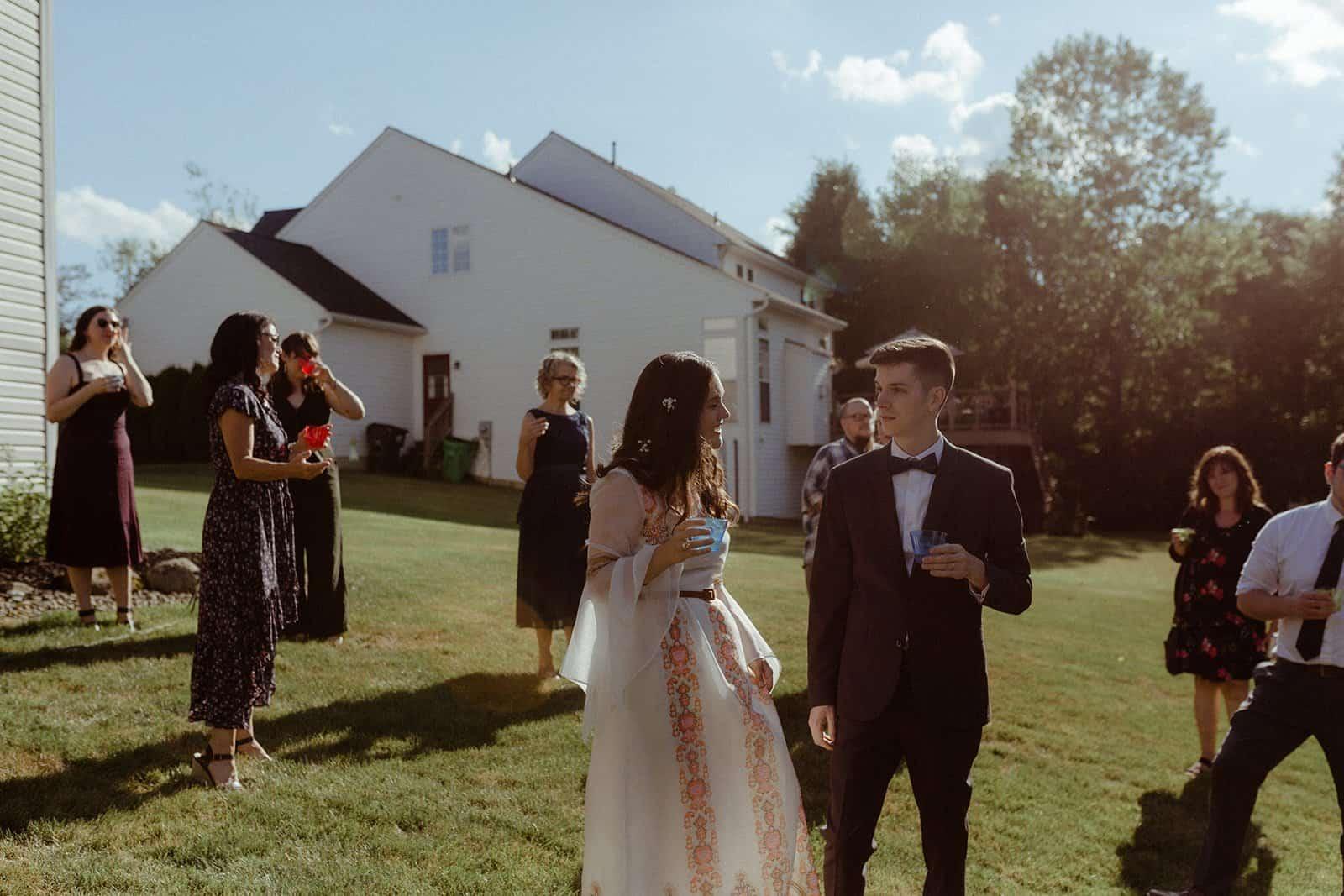 COVID-19 Backyard Wedding - WILLIAM + KAYLA 307