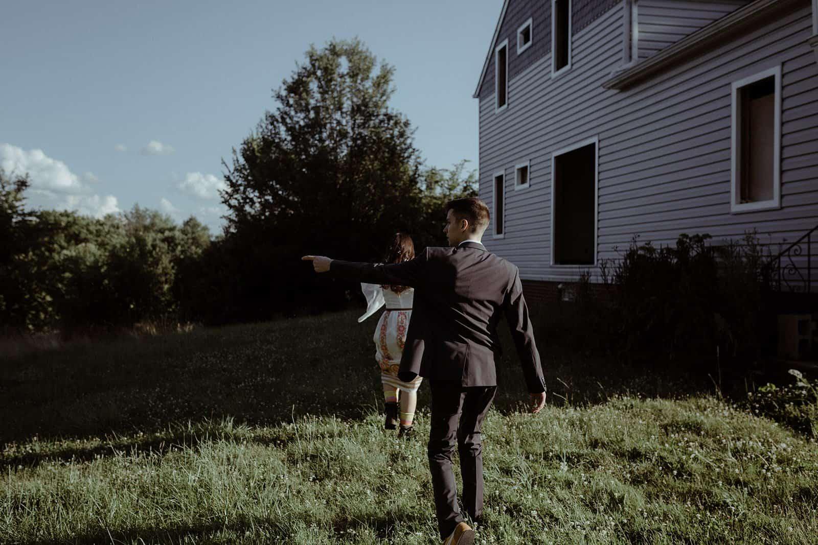 COVID-19 Backyard Wedding - WILLIAM + KAYLA 292