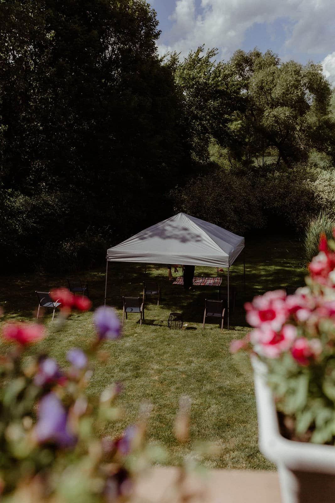 COVID-19 Backyard Wedding - WILLIAM + KAYLA 168