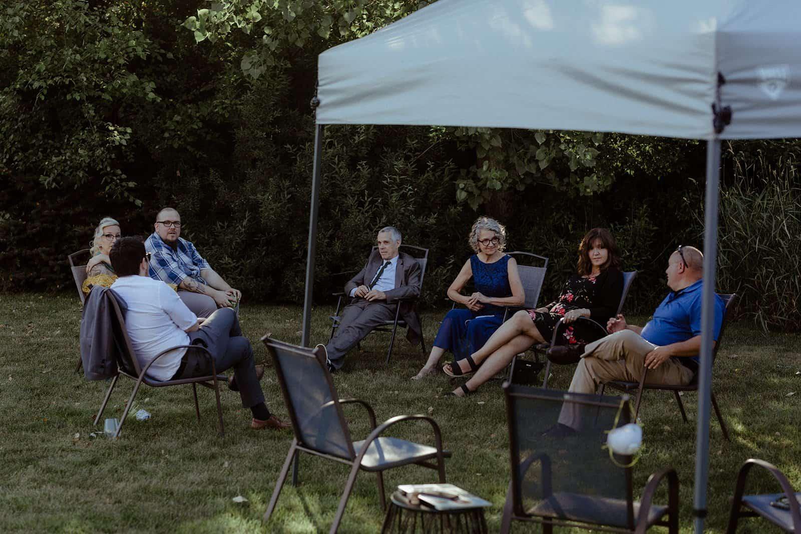 COVID-19 Backyard Wedding - WILLIAM + KAYLA 308