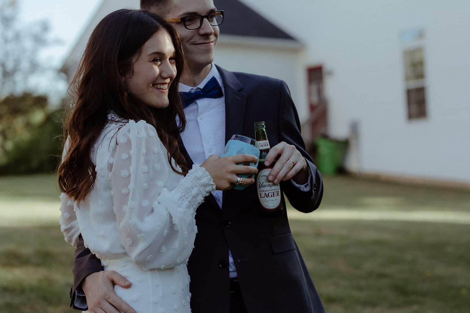 COVID-19 Backyard Wedding - WILLIAM + KAYLA 313