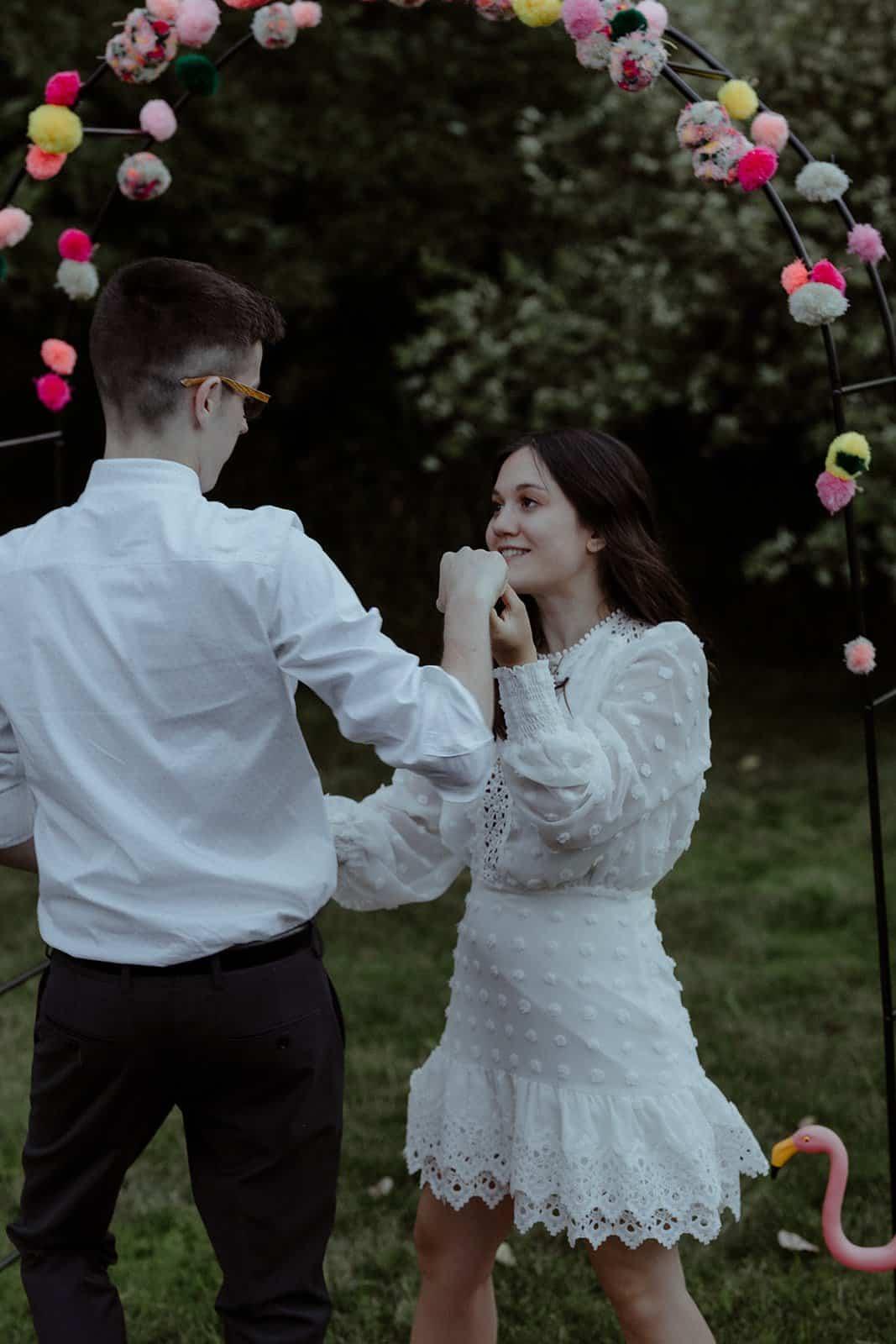 COVID-19 Backyard Wedding - WILLIAM + KAYLA 318