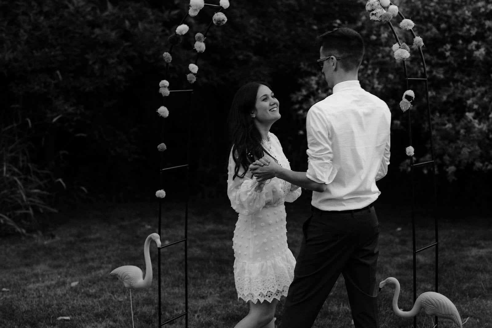 COVID-19 Backyard Wedding - WILLIAM + KAYLA 319
