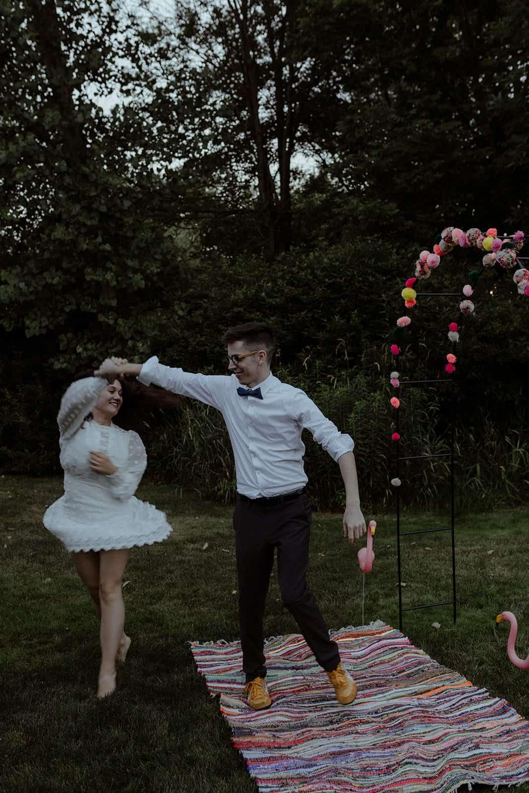 COVID-19 Backyard Wedding - WILLIAM + KAYLA 320