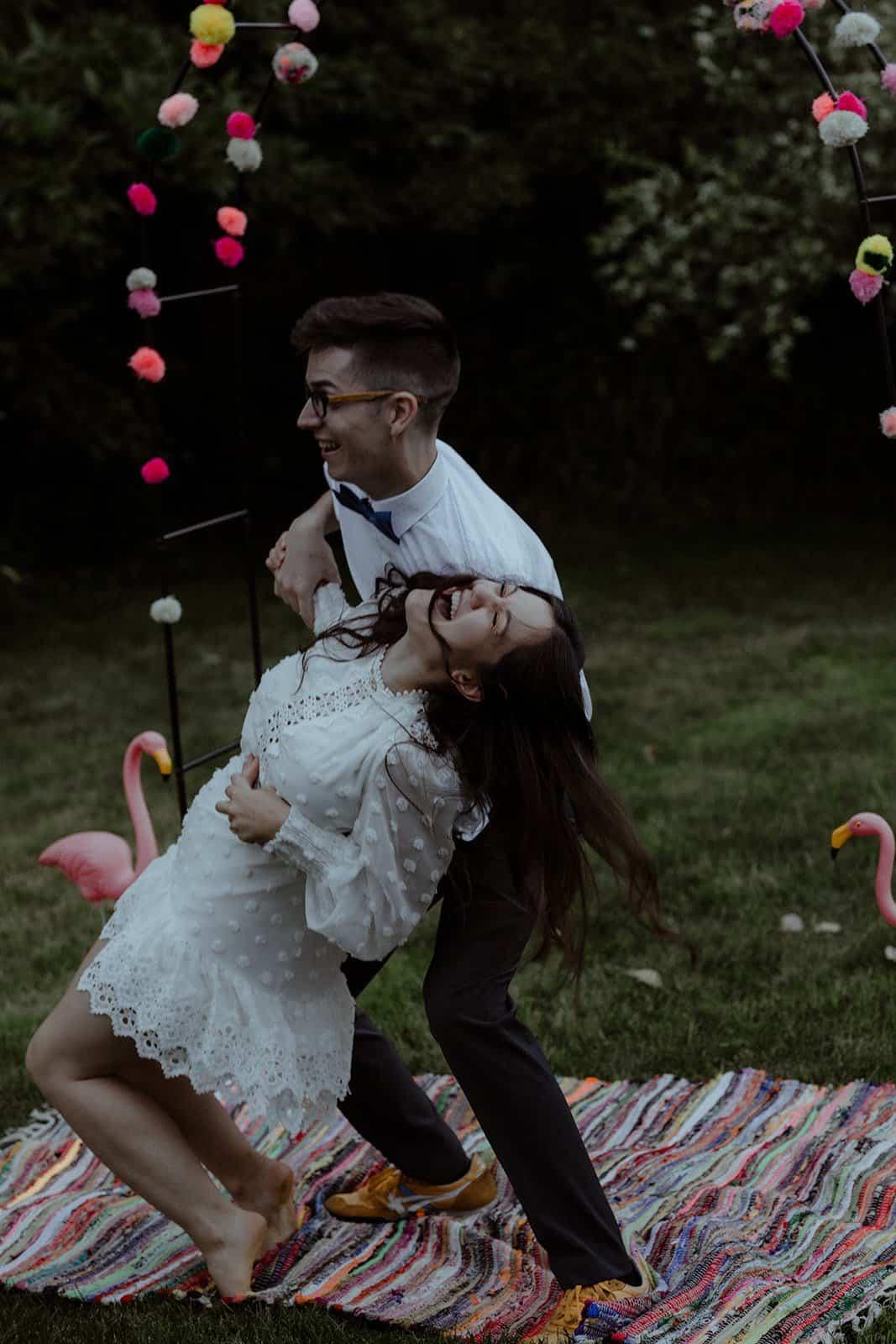 COVID-19 Backyard Wedding - WILLIAM + KAYLA 321