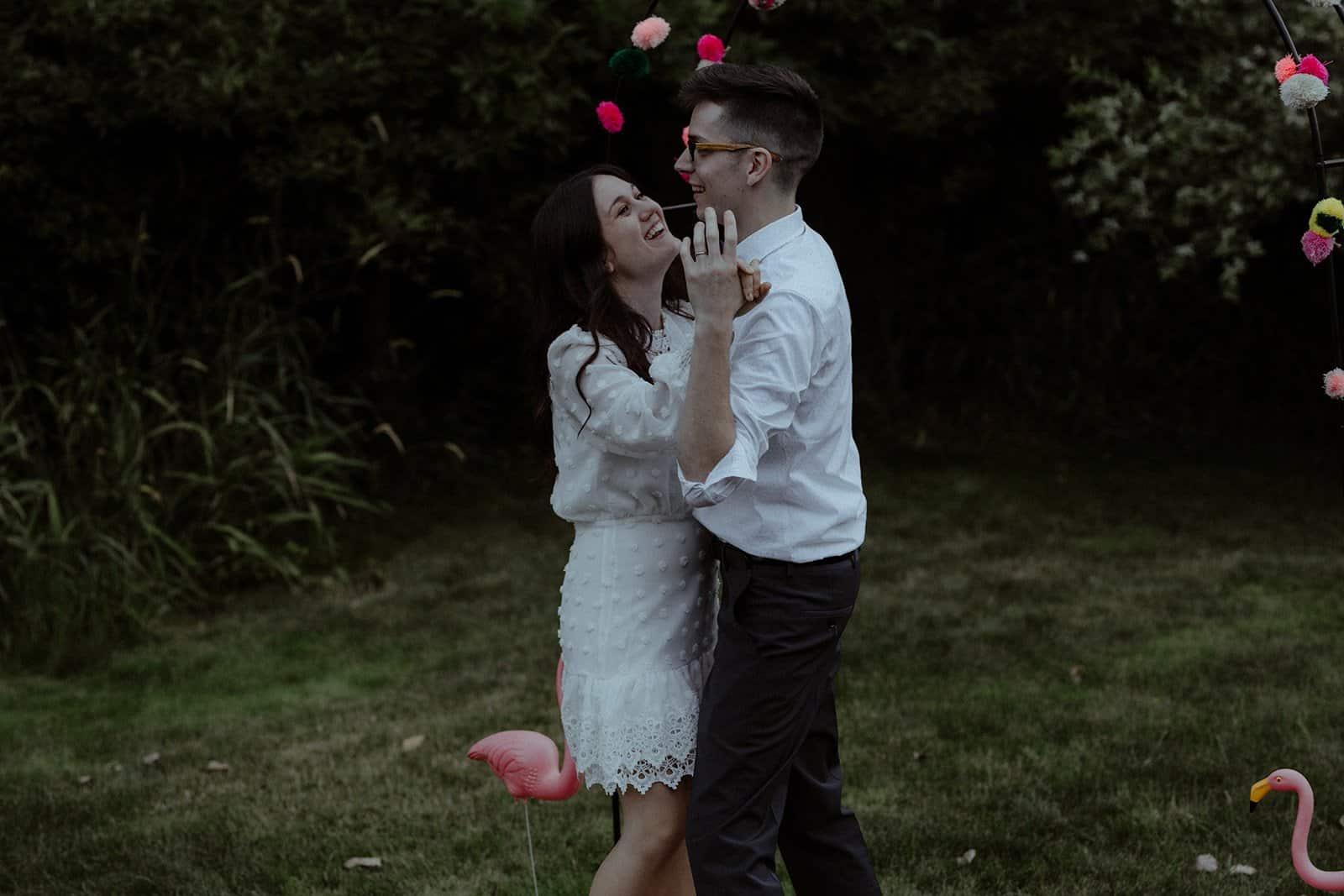 COVID-19 Backyard Wedding - WILLIAM + KAYLA 322