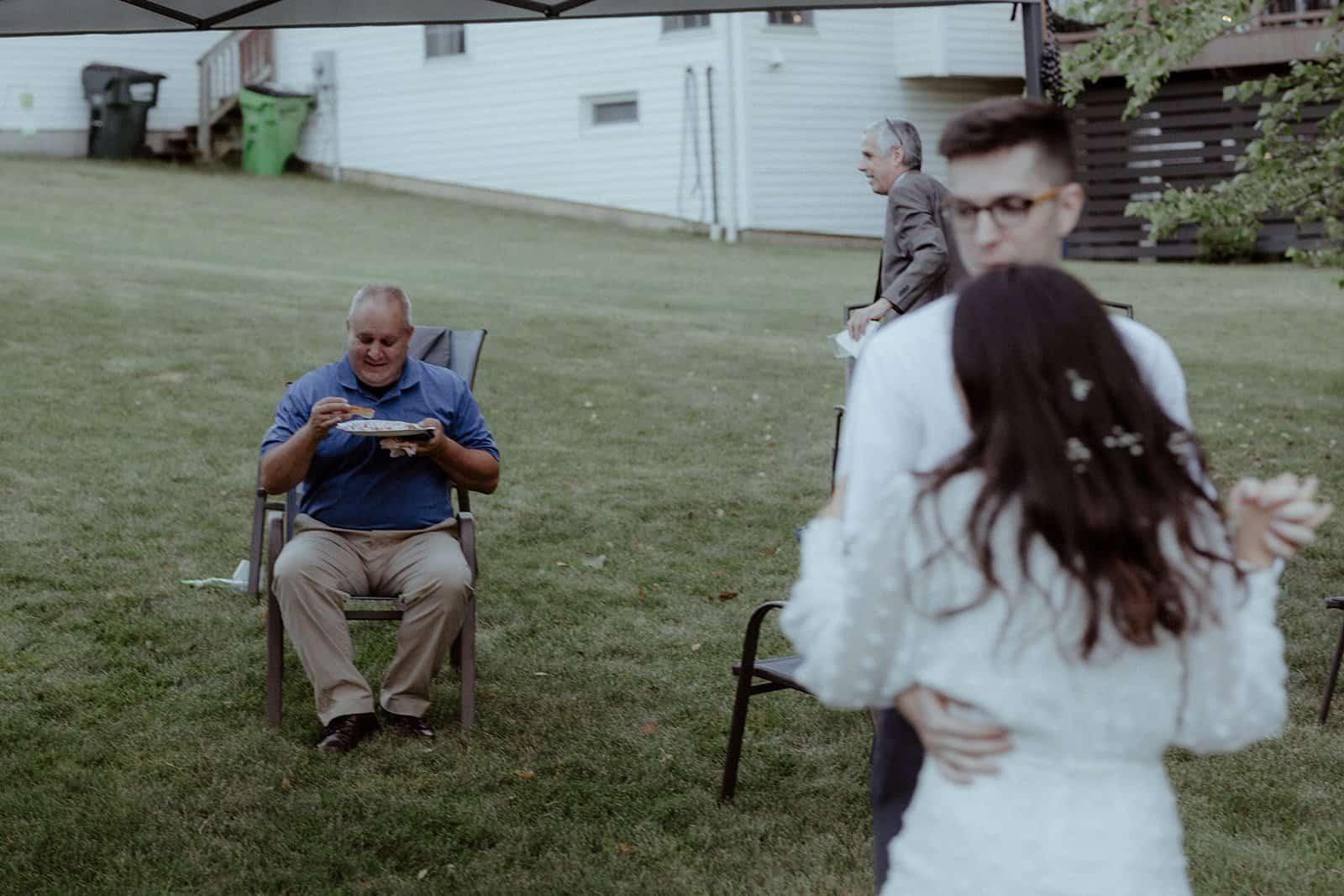 COVID-19 Backyard Wedding - WILLIAM + KAYLA 326