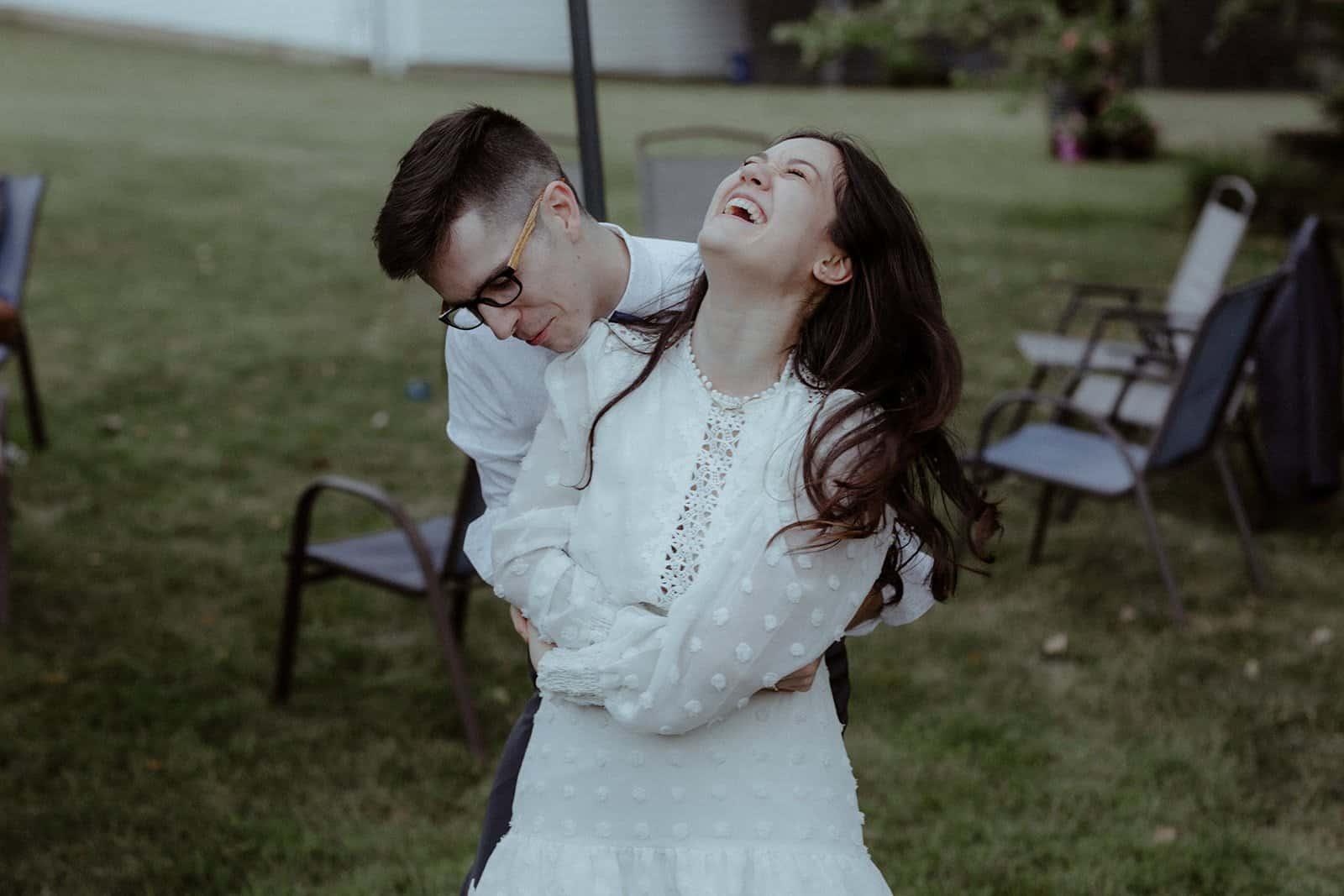 COVID-19 Backyard Wedding - WILLIAM + KAYLA 328