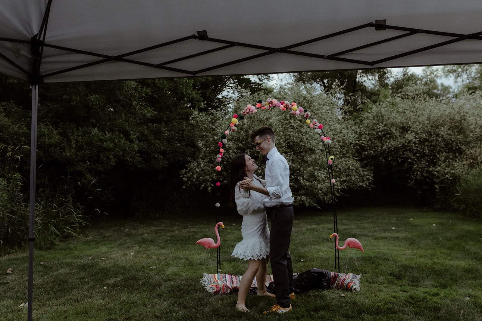 COVID-19 Backyard Wedding - WILLIAM + KAYLA 330