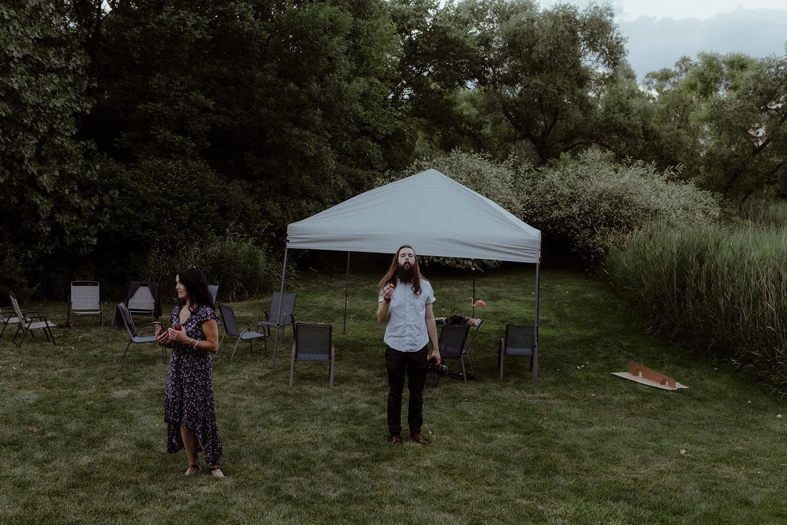 COVID-19 Backyard Wedding - WILLIAM + KAYLA 332
