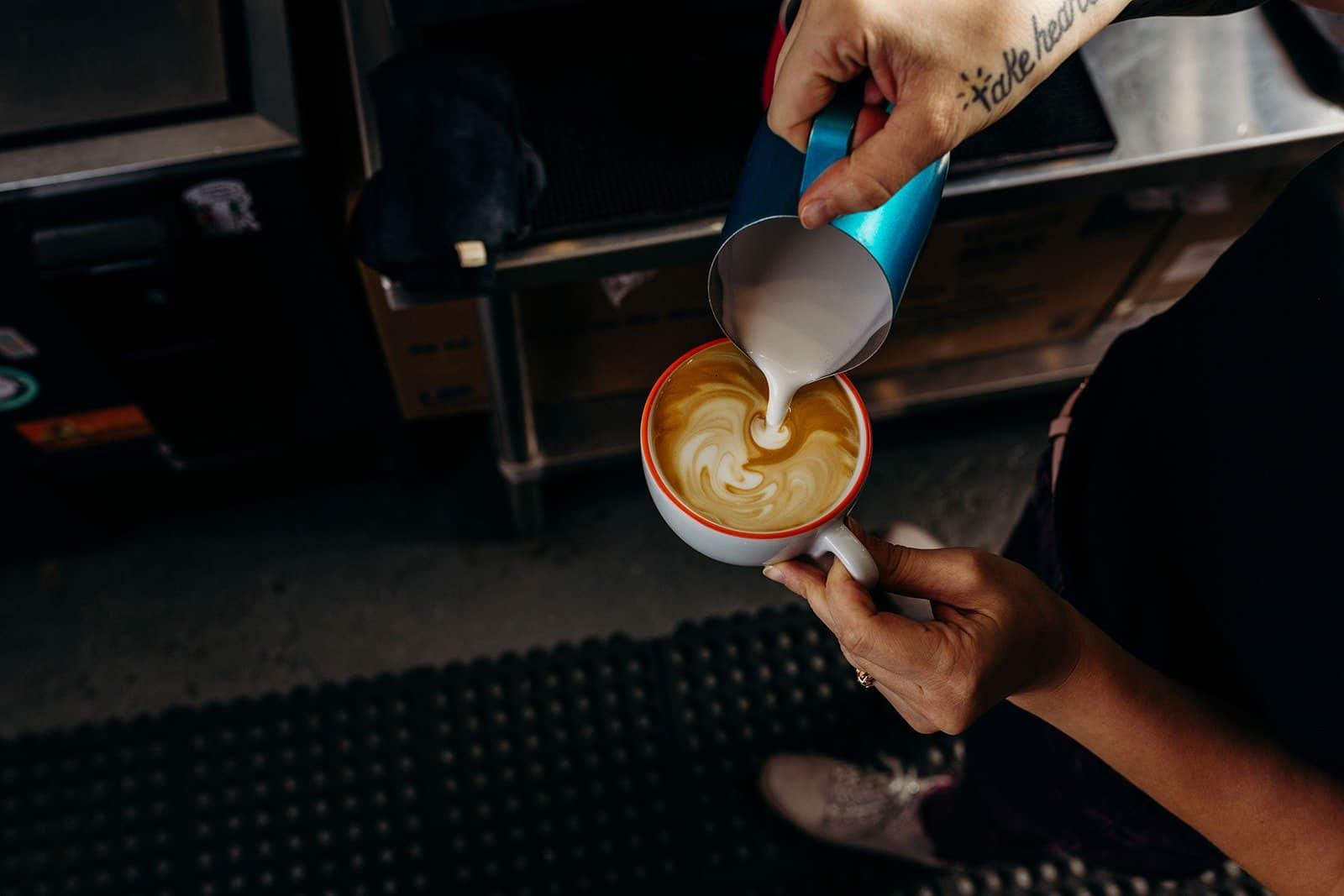 Coffee Shop Photography - Walkie Talkie Coffee 180