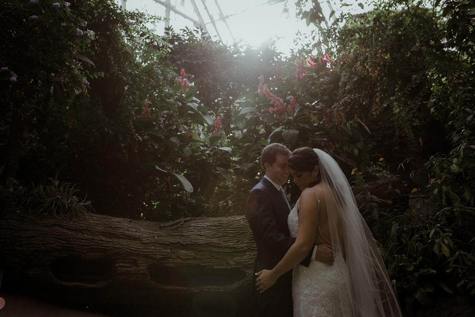 cleveland botanical garden wedding - chris + katie 140