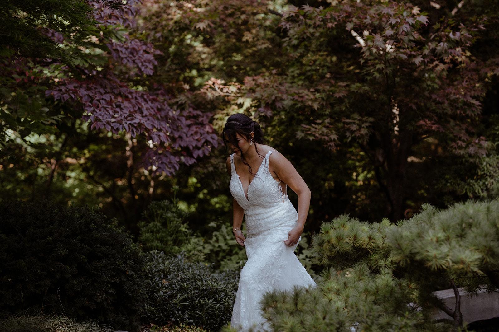 cleveland botanical garden wedding - chris + katie 78
