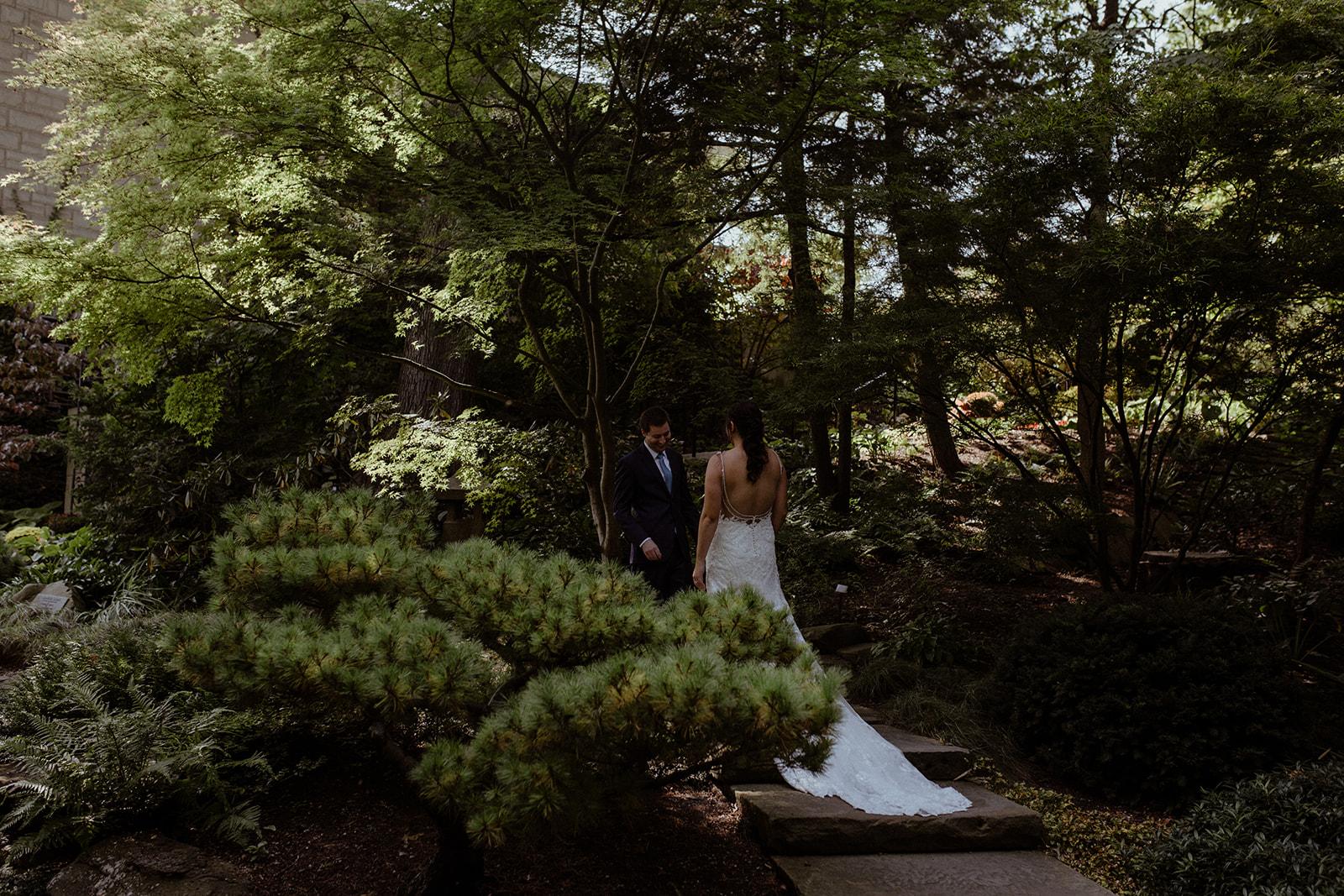 cleveland botanical garden wedding - chris + katie 84