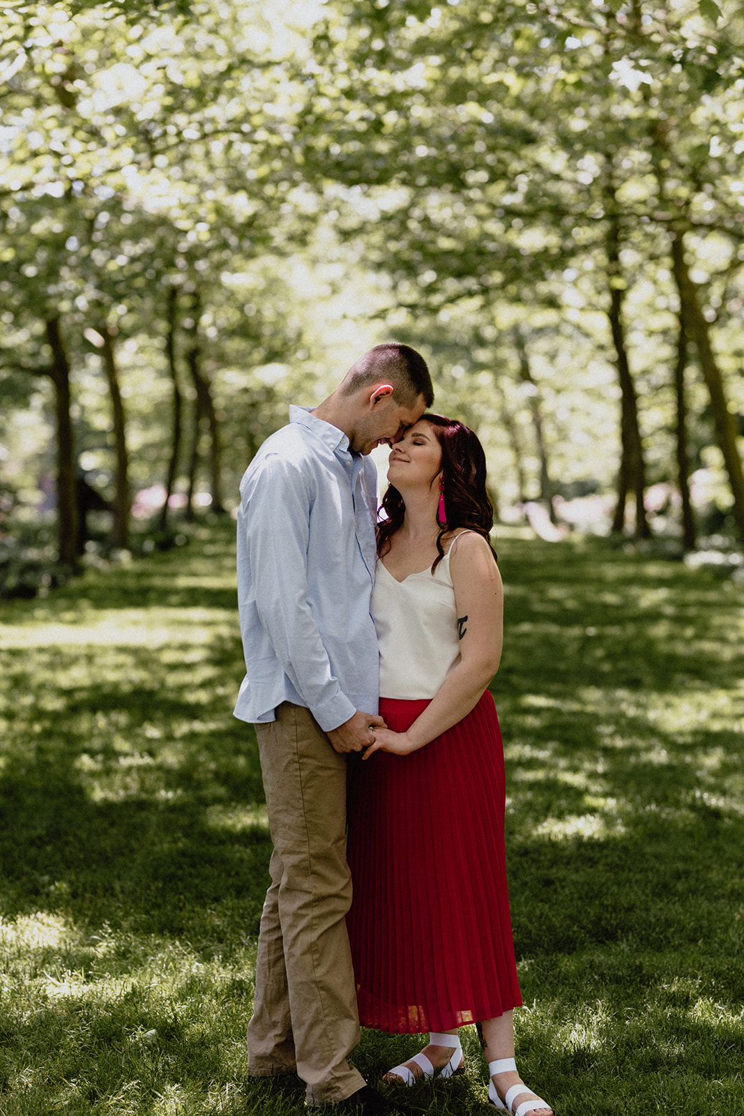 stan hywet engagement session - lana + zach 44
