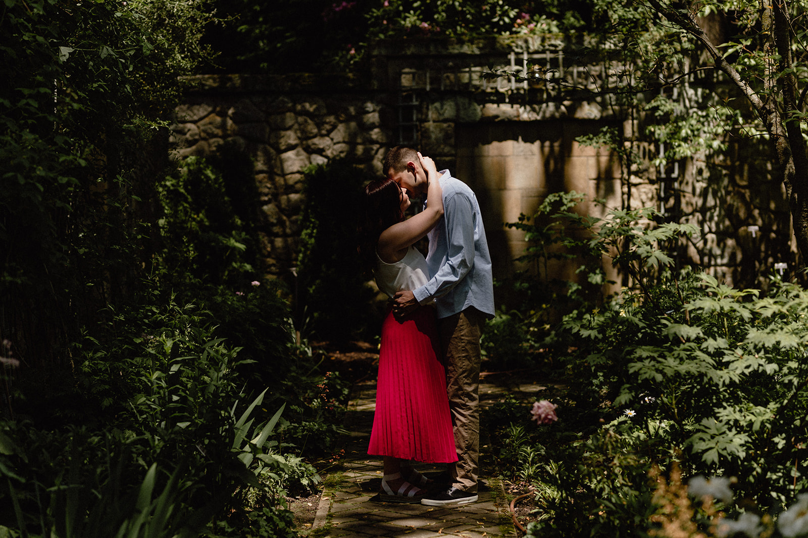 Stan Hywet engagement session